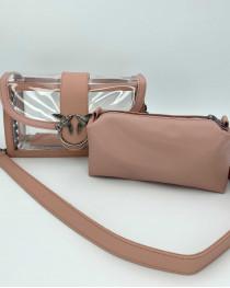 Женская сумка «Гвен» пудра