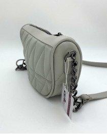 Женская сумка «Лайзи» оптом серая