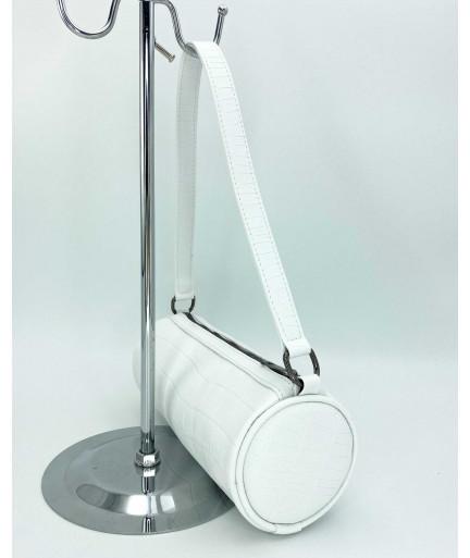 Женская сумка «Бэтс» белая