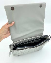 Женская сумка «Донна» оптом серая