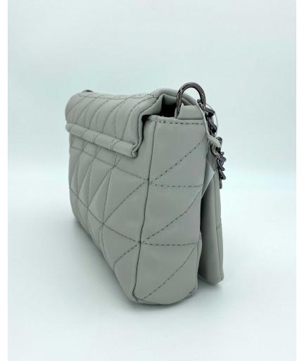 Женская сумка «Донна» серая
