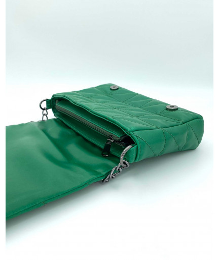 Женская сумка «Донна» зеленая