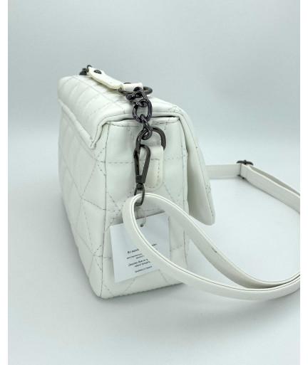 Женская сумка «Обри» белая