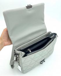 Женская сумка «Обри» серая