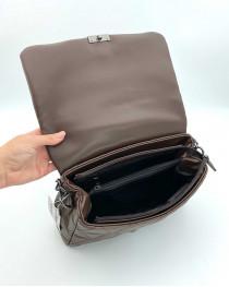 Женская сумка «Обри» шоколадная