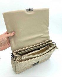 Женская сумка «Обри» бежевая