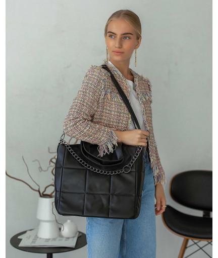 Женская сумка «Дэйна» черная