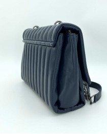 Женская сумка «Темми» темно синяя