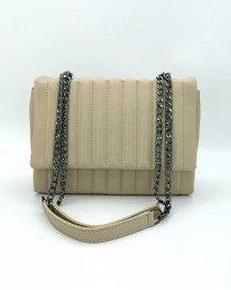 Женская сумка «Темми» бежевая