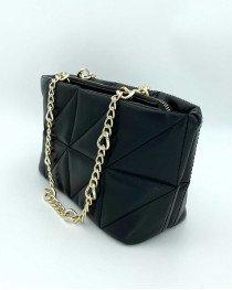 Маленькая женская сумка «Холли» черная