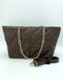Женская сумка «Саманта» шоколадная