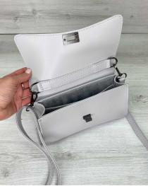 Женская сумка «Пэт» серая