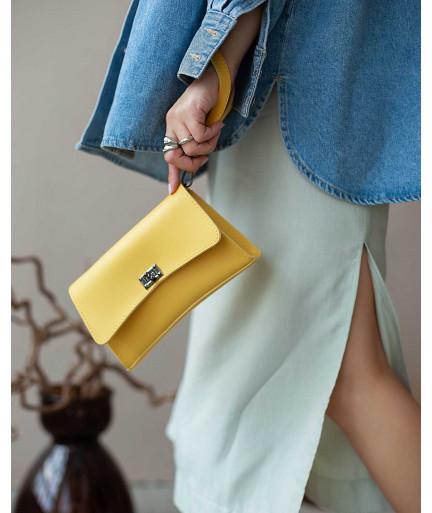 Женская сумка «Пэт» желтая
