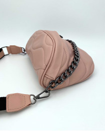 Женская сумка «Пеги» пудра