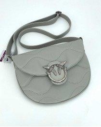 Женская сумка «Джасти» серая