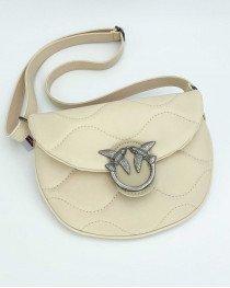 Женская сумка «Джасти» бежевая