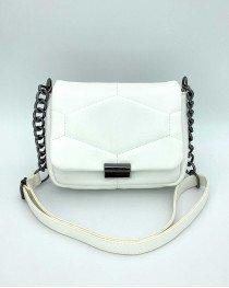 Женская сумка «Санди» белая