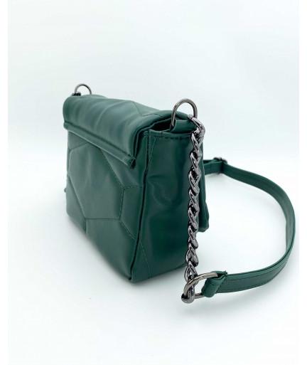 Женская сумка «Санди» зеленая