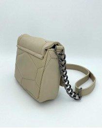 Женская сумка «Санди» бежевая