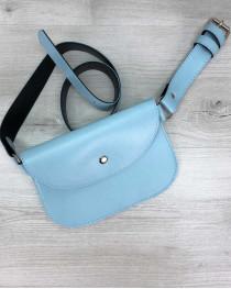 Женская сумка Kim голубая