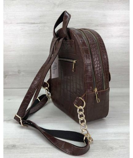 Рюкзак женский «Britney» шоколадный