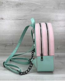 Рюкзак молодежный «Marcy» пудра с мятой