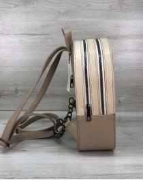 Рюкзак городской молодежный «Marcy» бежевый