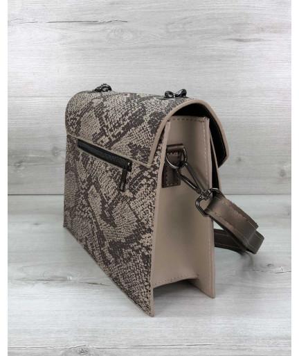 Стильная сумка Amber беж