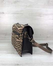 Стильная сумка Amber леопард