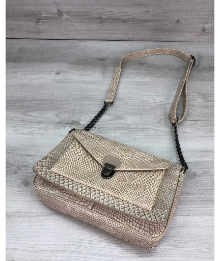 Стильная сумка  Rika бежевая