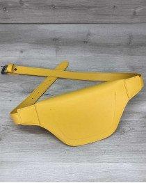Женская сумка бананка оптом «Tery» желтая