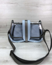 Женская сумка 2 в 1 «Miranda» голубая