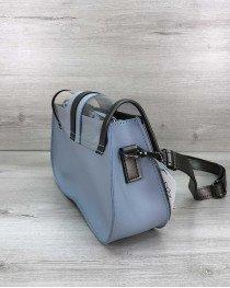 Женская сумка оптом 2 в 1 «Miranda» голубая