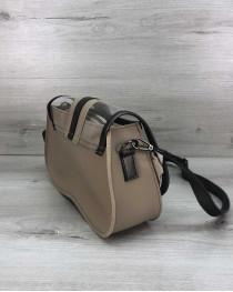 Женская сумка 2 в 1 «Miranda» бежевая