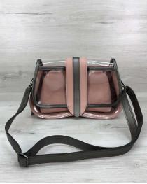 Женская сумка 2 в 1 «Miranda» пудра