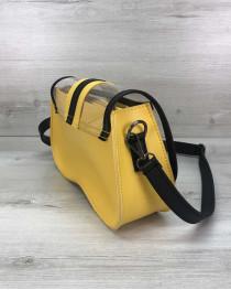 2в1 Женская сумка Miranda желтая