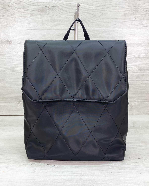 Сумка рюкзак нейлоновый черный