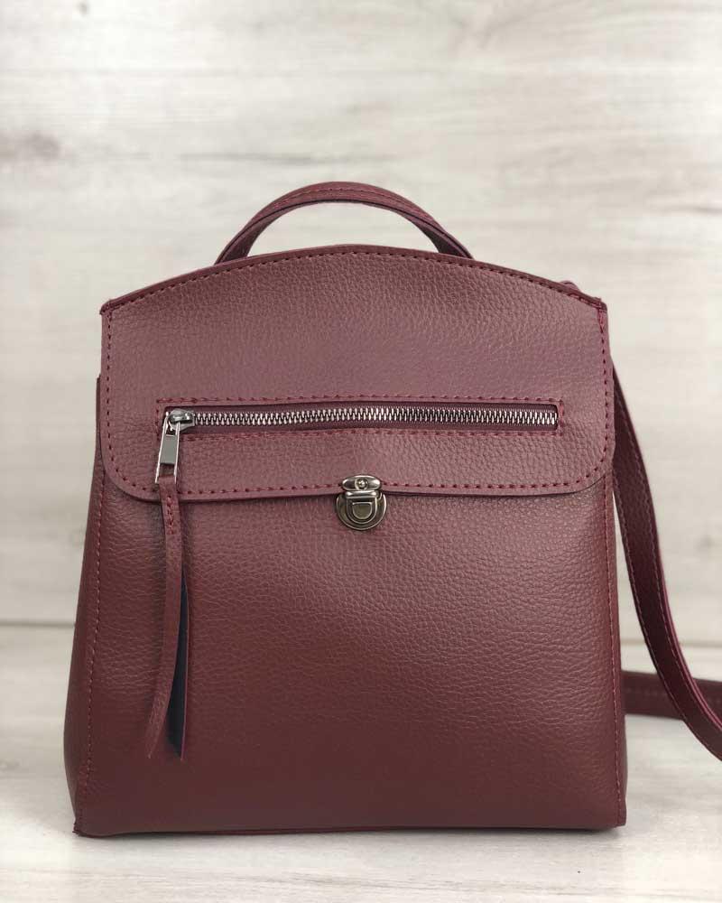 Рюкзак женский «Дэнис» бордовый