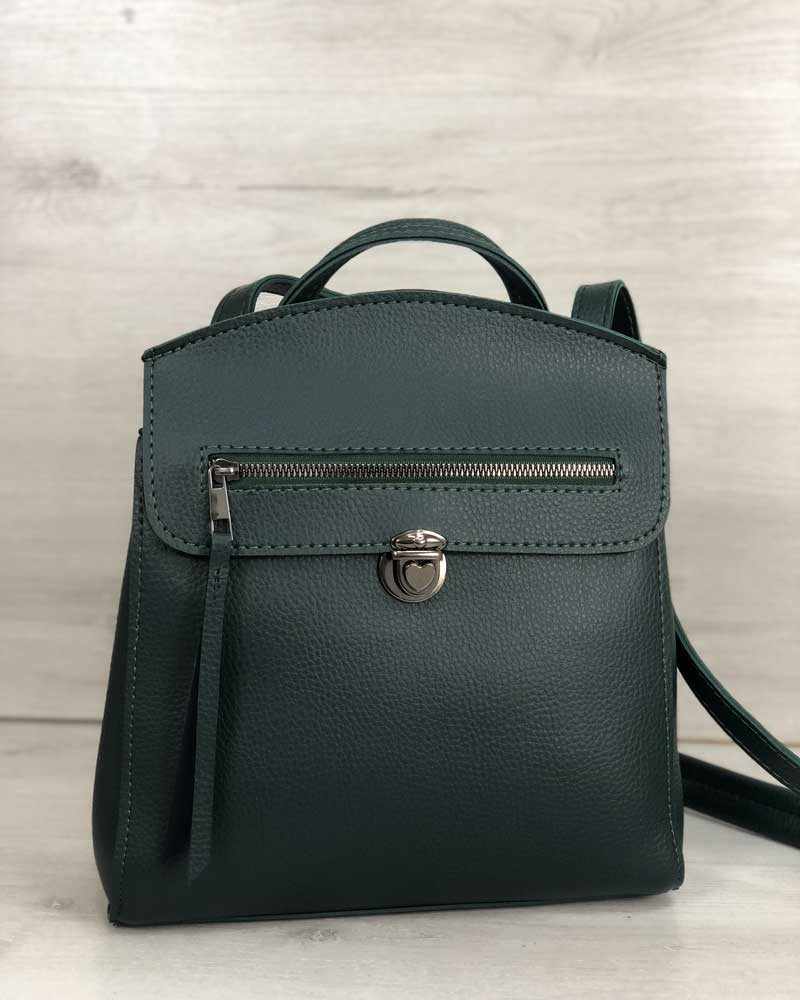 Рюкзак женский «Дэнис»  зеленый