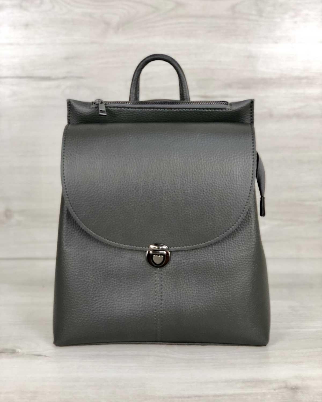 Рюкзак сумка «Эшби» серый