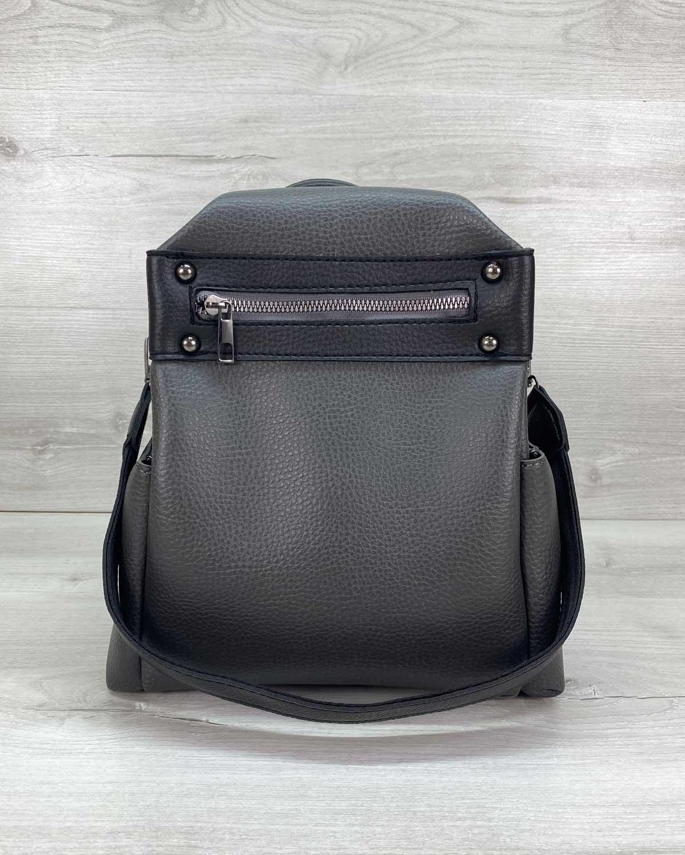 Сумка рюкзак «Dacio» серый