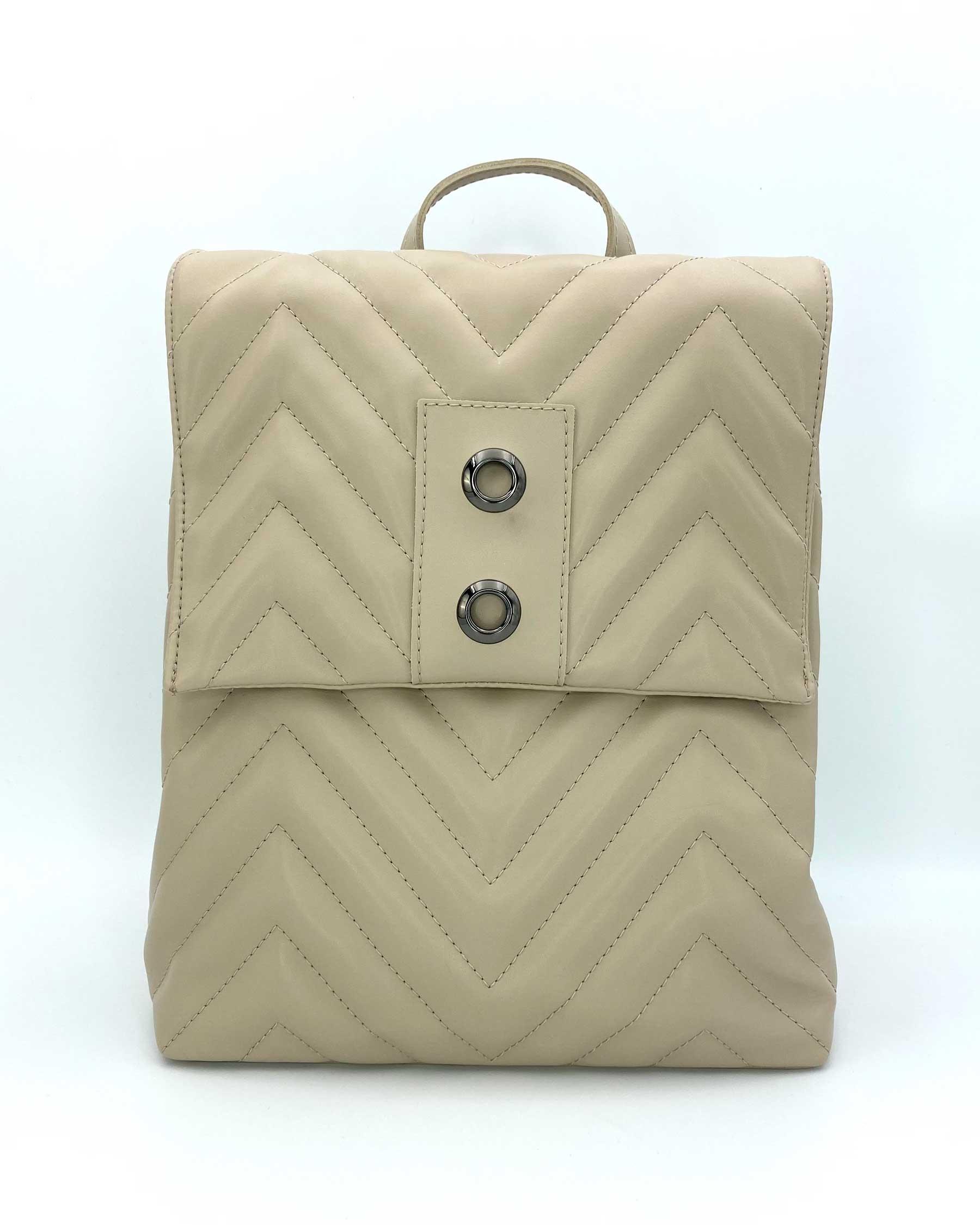 Сумка-рюкзак «Харпер» бежевый