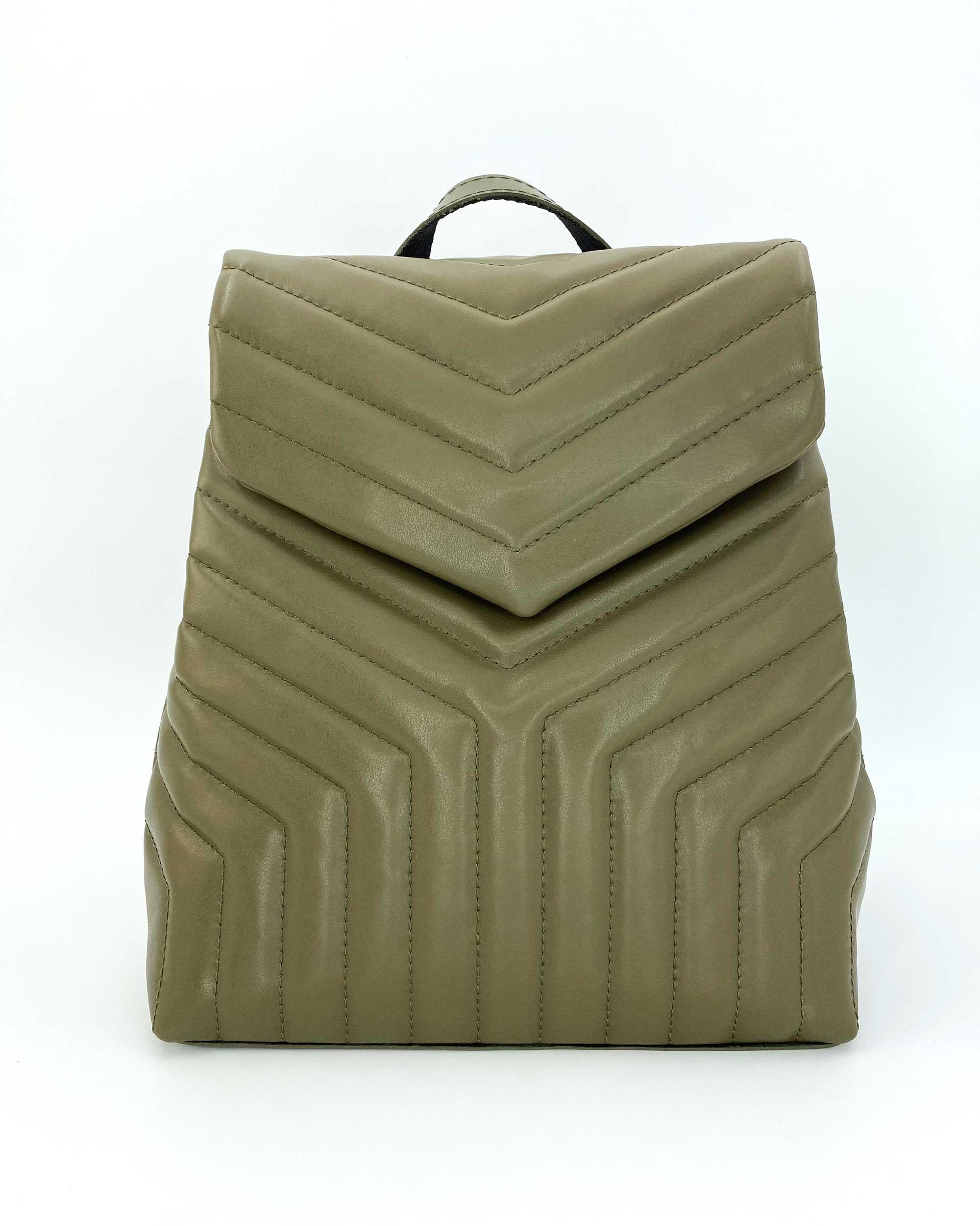 Сумка-рюкзак «Луки» оливковый