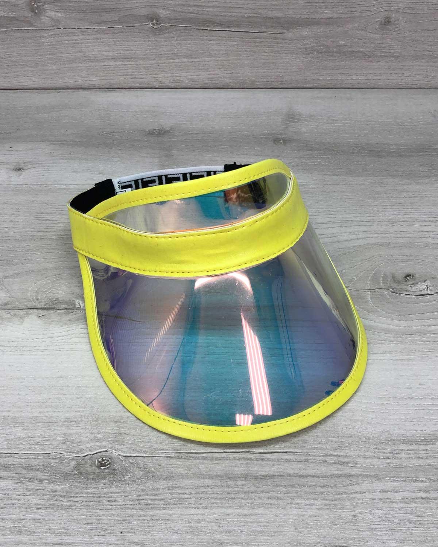 Молодежная Перламутровая кепка с желтым