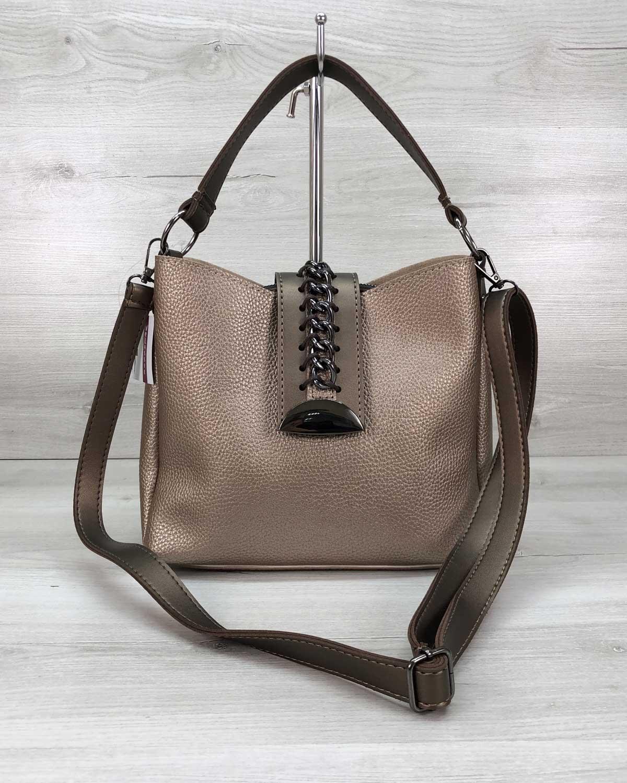 Женская сумка «Сати» золото
