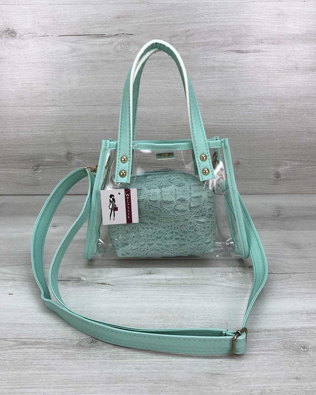 Женская сумка «Aster» мятная
