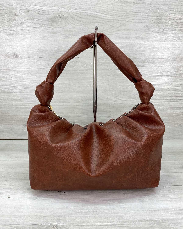 Женская сумка «Самира» рыжая