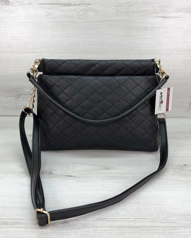 Женская сумка клатч «Ava» черная