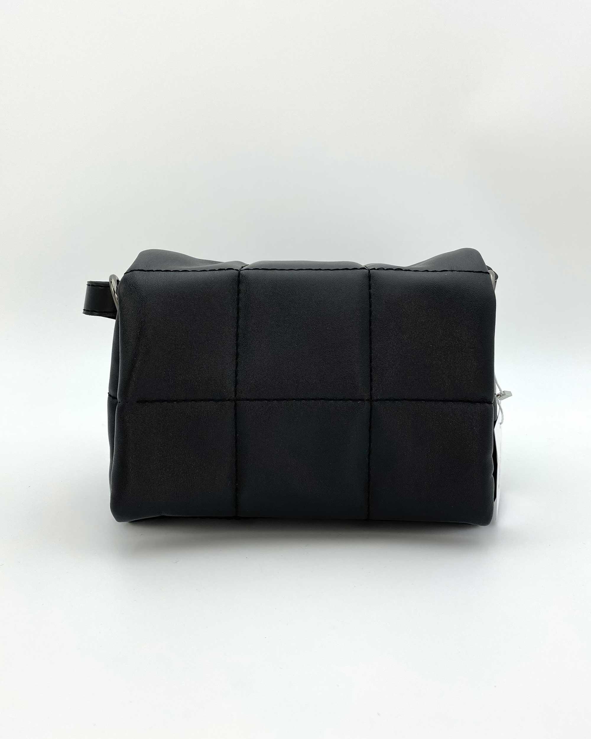 Маленькая женская сумка «Дина» черная