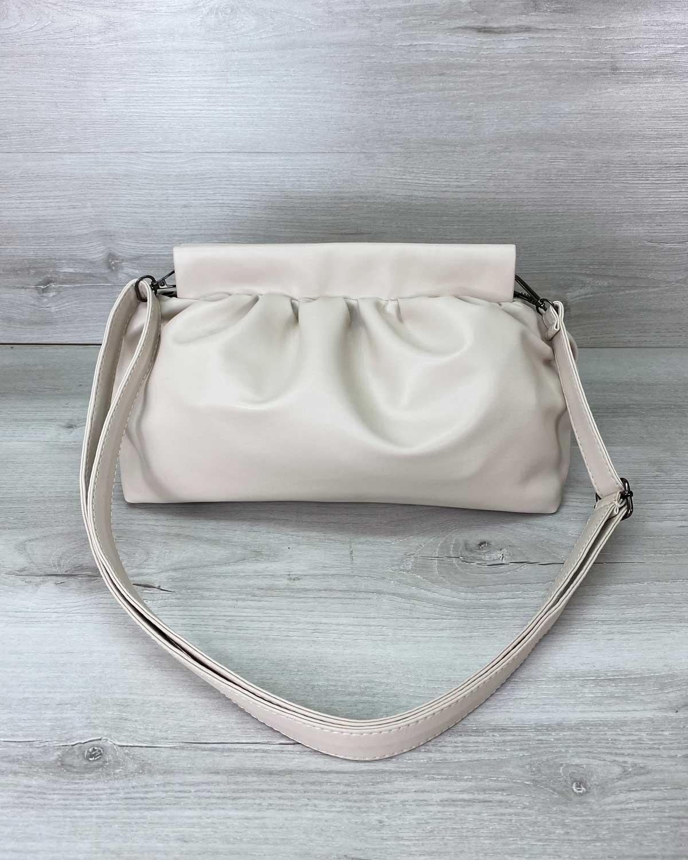 Женская сумка «Vivian» молочная